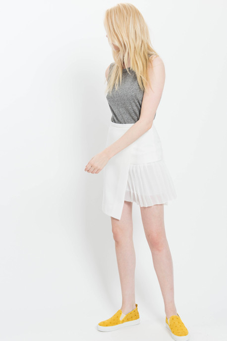 'Dawn' Pleated Skirt