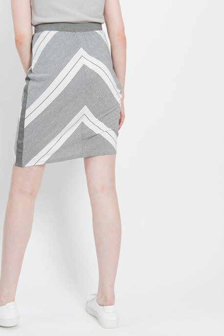 Striped Sarong Skirt