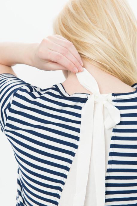 Tie Back Ruffle Top
