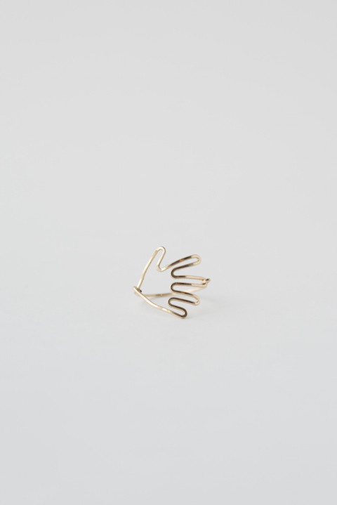 Hand Ring by Mary MacGill