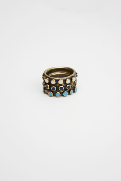 Kathryn Bentley Snake Eye Rings