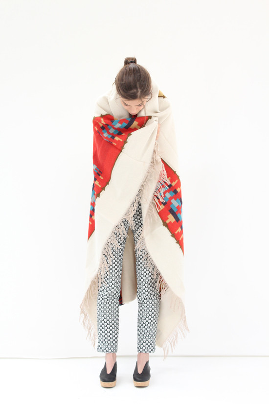 Pendleton Blanket Banded Stripe