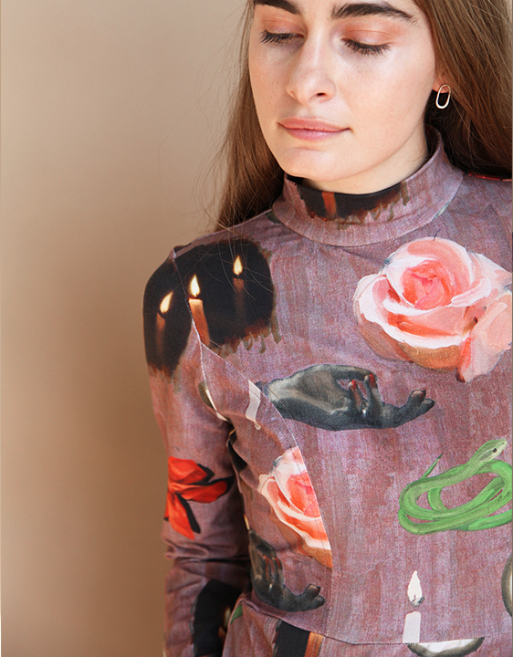 Samantha Pleet Requiem Dress – Token