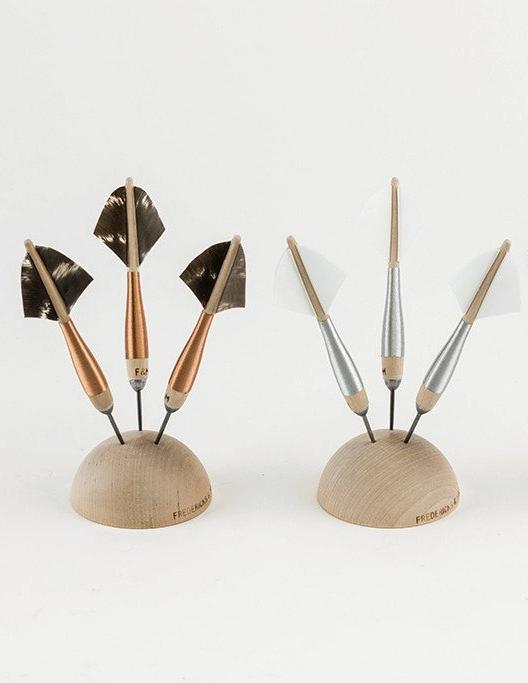 Fredericks & Mae Metallic Handspun Darts, Set of 3