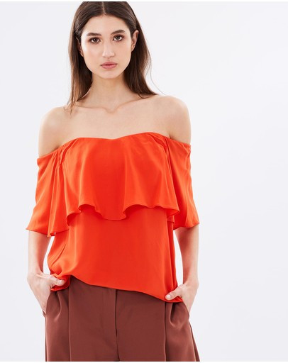 Camilla and Marc 'Verbena' Off the Shoulder Top