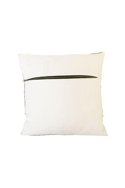 Heidi Merrick Copper Silver Small Sequin Pillow