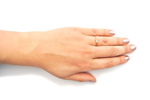 Silversheep Jewelry Herkimer Diamond Ring