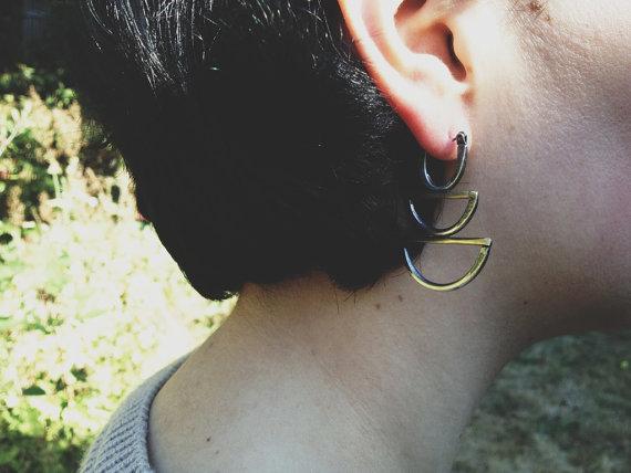 Knuckle Kiss Moon Rising Earrings