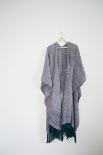 Indigo Reid Four Panel Poncho