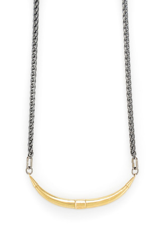 Mercurial NYC Bulls Horn Necklace