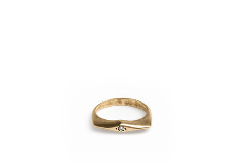 Mercurial NYC Knife Edge Ring