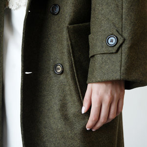 Nikki Chasin Lozano Shawl Collar Coat