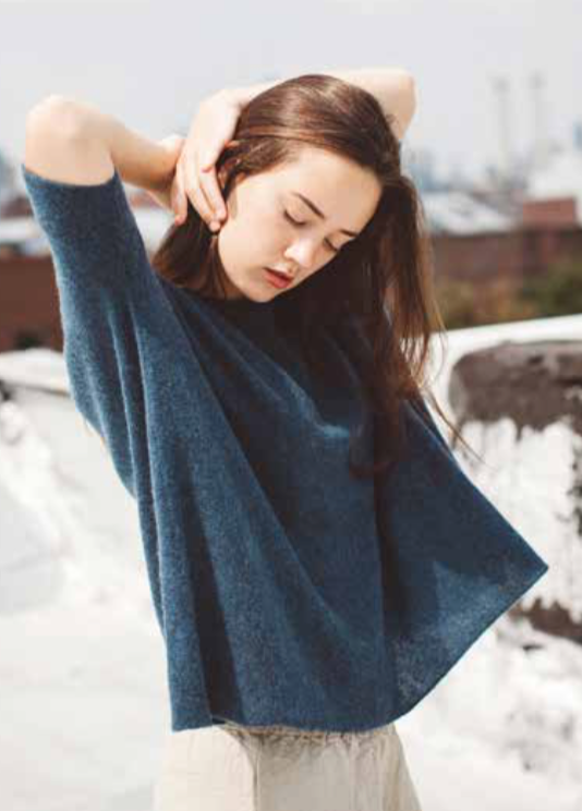 Petria Lenehan Cashmere Swing Sweater