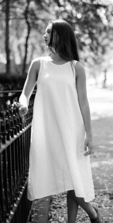 Petria Lenehan White Summer Tunic Dress