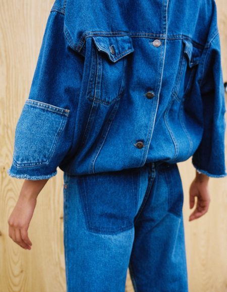 In Why Double Denim
