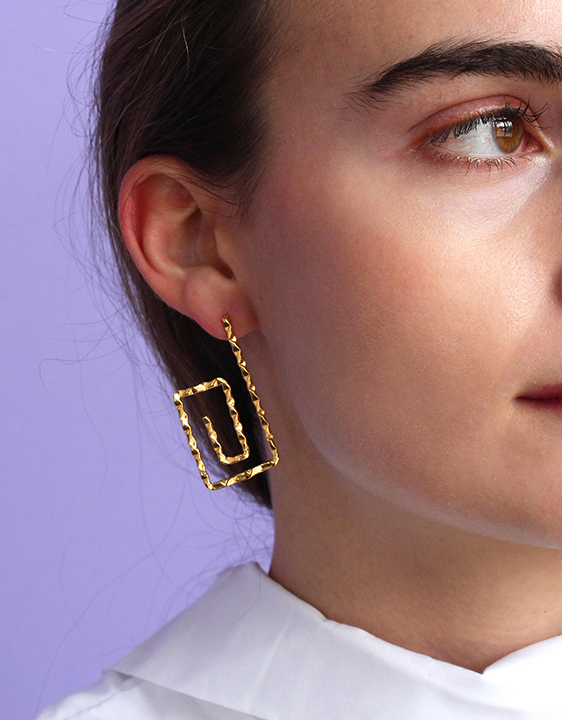 Alynne Lavigne Patera C Earrings