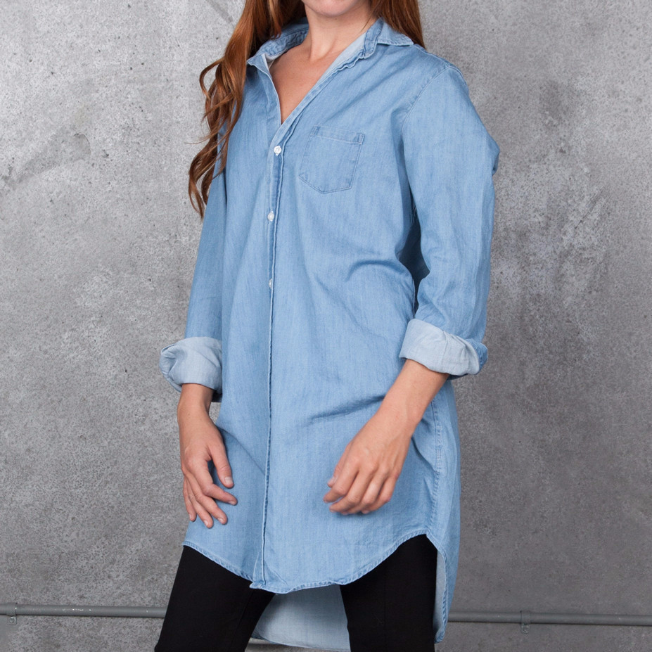 Frank And Eileen Mary Denim Shirt From Tamarind Clothing
