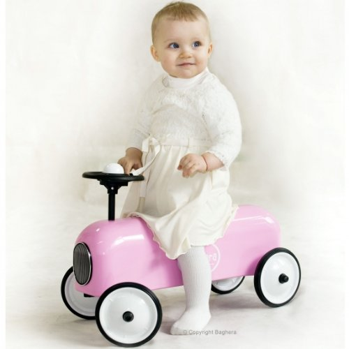 Baghera Ride-On Racer White