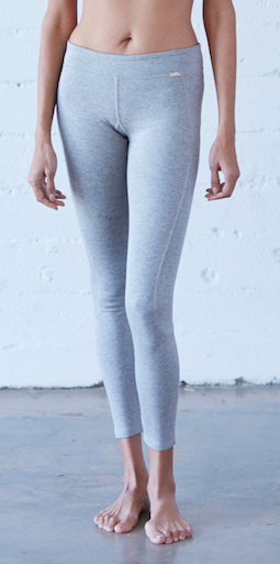 VPL X-Curvate Legging Heather Grey : Winter Weight Knitted Ponte