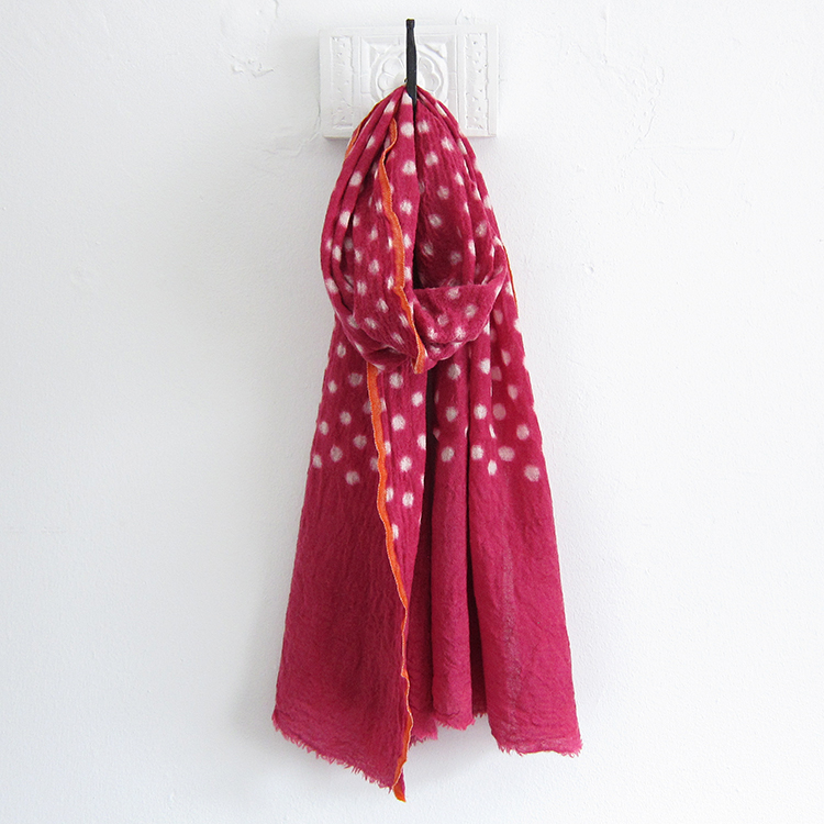 matta patti scarf sangria from task garmentory