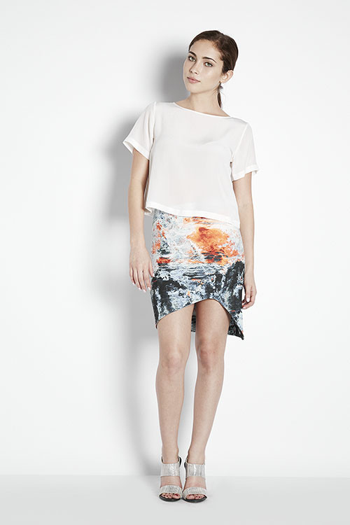 Bec & Bridge Fire & Ice Skirt