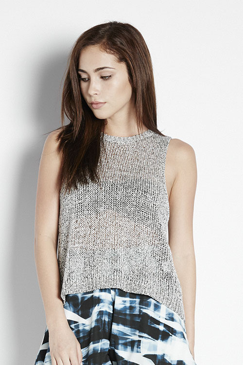 Bec & Bridge Hieroglyphics Knit Tank
