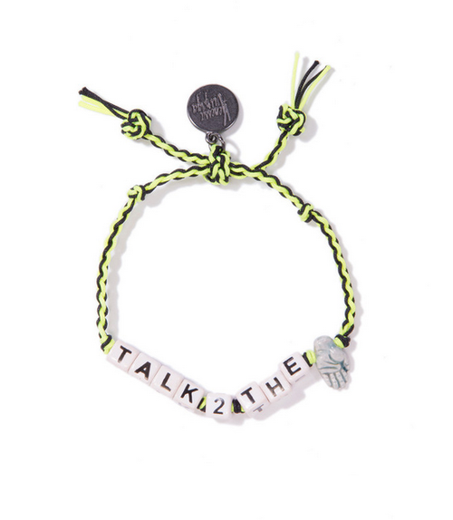 Venessa Arizaga Talk To The Hand Friendship Bracelet