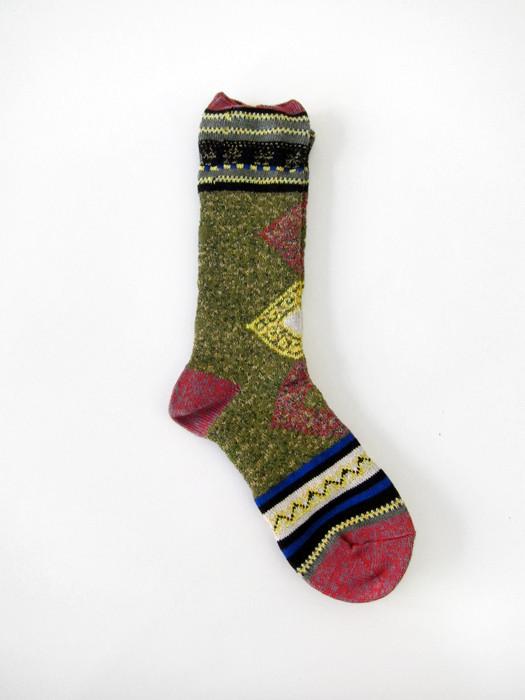 Kapital Miao Argyle Socks
