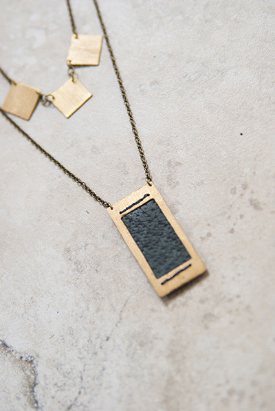 Geography 541 Fairmount Necklace