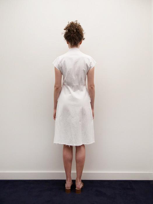 Alexa Stark Cap Sleeved Shift Dress