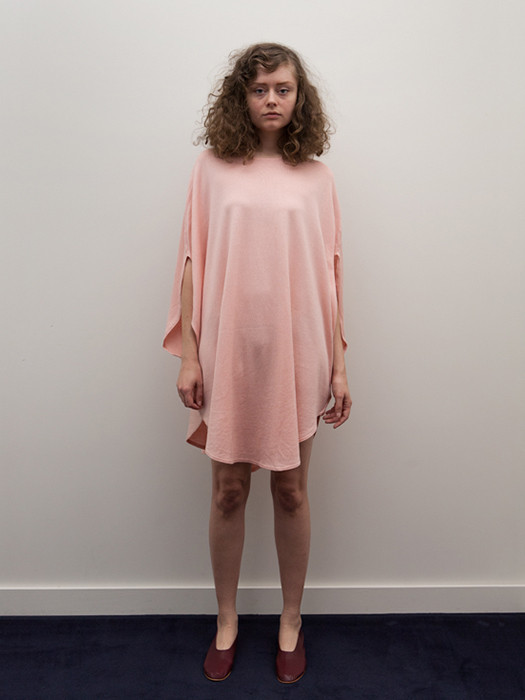 Cosmic Wonder Circular Dress, Natural Pink