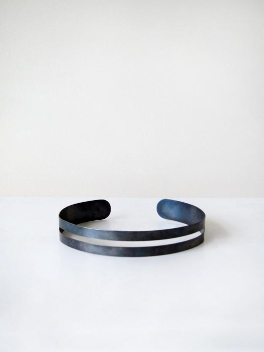 Kat Seale Cut Out Necklace, Steel