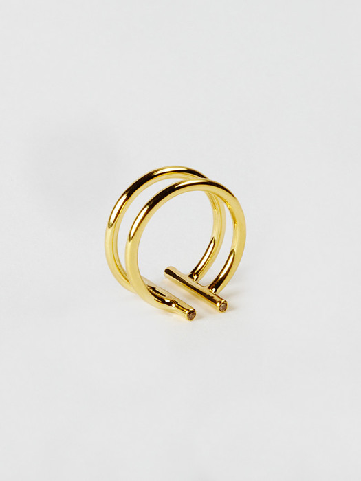Natasha Wheat Double Non-Ring,