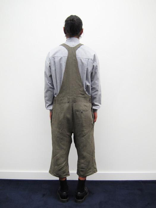Unisex BLESS Dungaree shorts