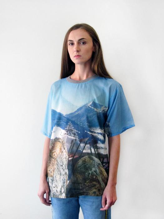 Unisex BLESS Holidaymountainlake Shirt