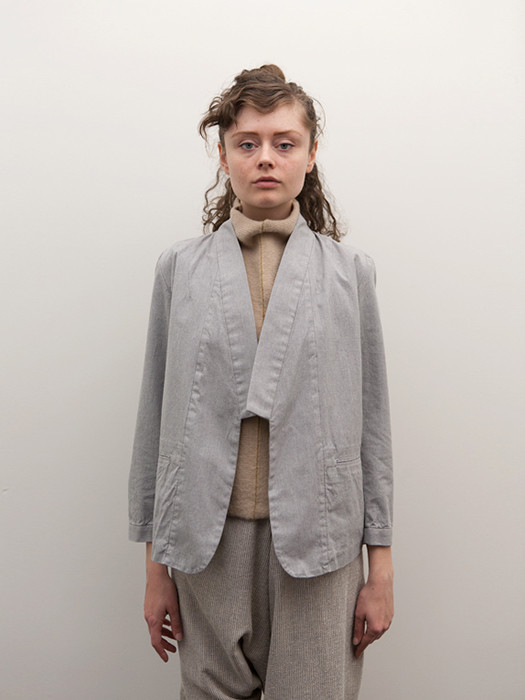 Cosmic Wonder Kimono Jacket, Heather Grey