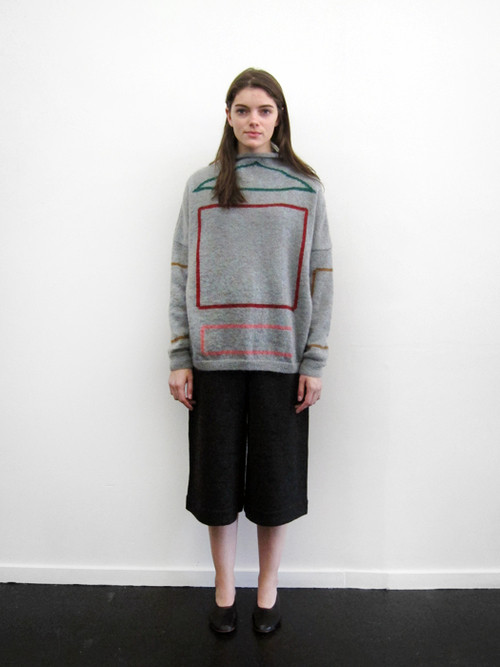 Unisex Anntian Knit Sweater