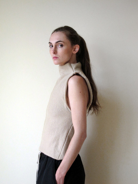 Eckhaus Latta Knit Wool Top