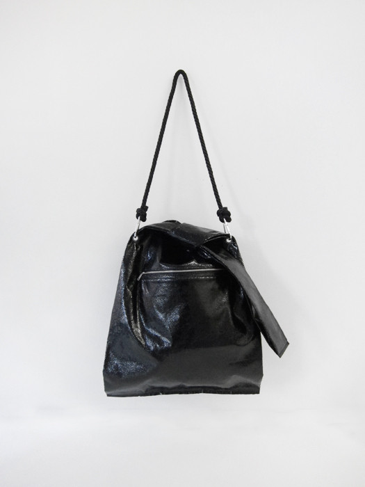 Ann-Sofie Back Knot Shopper, Black