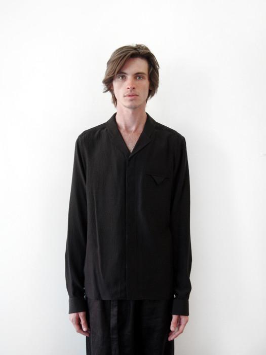 Unisex Siki Im Lapel Shirt