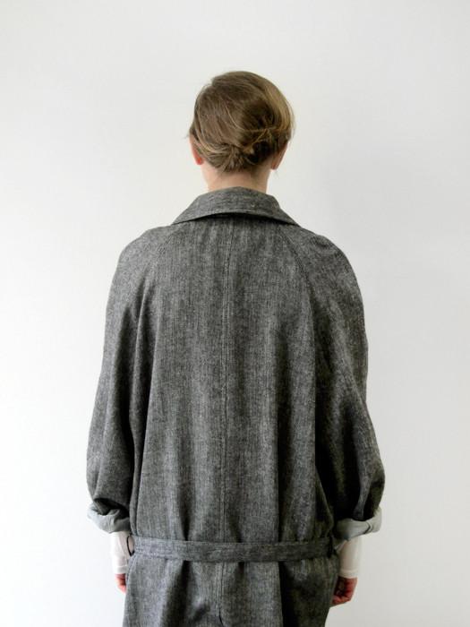 Baserange Long Trench Coat