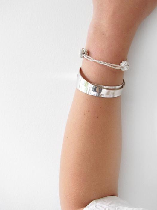 Kat Seale Medium Cuff, Silver