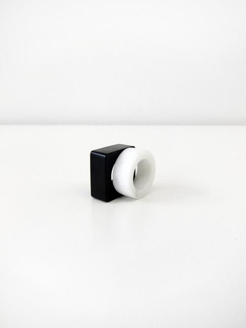 Autoctona Nero E Blanco (Marble Rings)