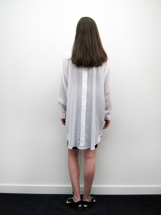 Suzanne Rae Oversized Button Back Shirt