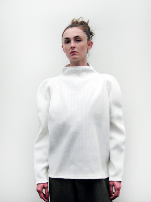 Eckhaus Latta Ribbed Big Pullover