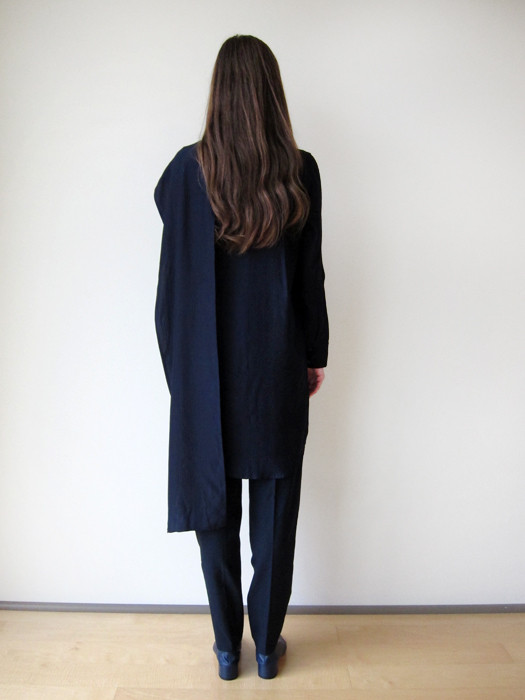Ffixxed Scarf Shirt Dress
