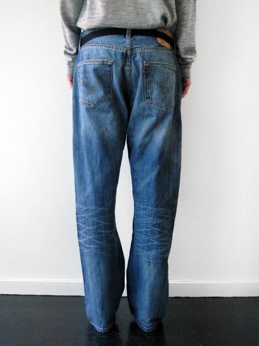 Unisex BLESS Sidestripes Jeans, 33