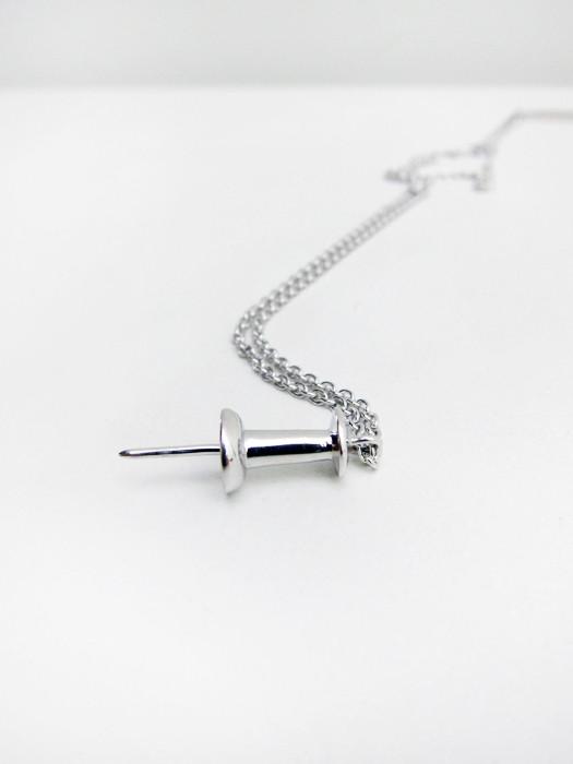 Lauren Klassen Single Tack Necklace