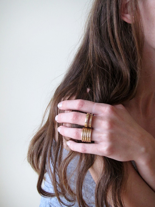 Kat Seale Split Oval Ring