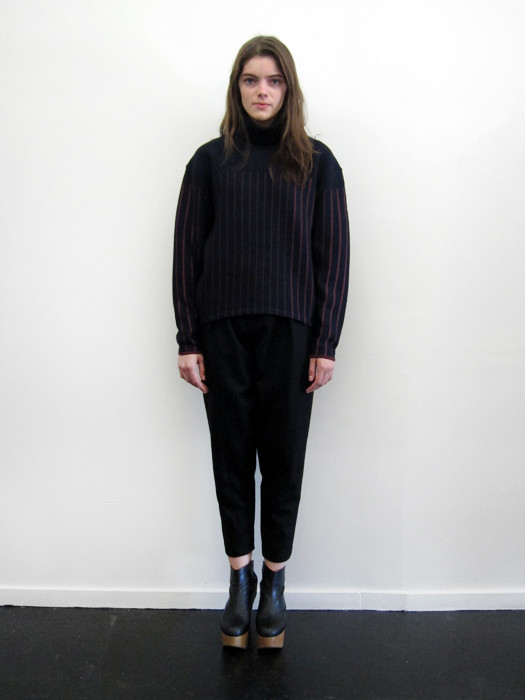Sayaka Davis Striped Turtleneck
